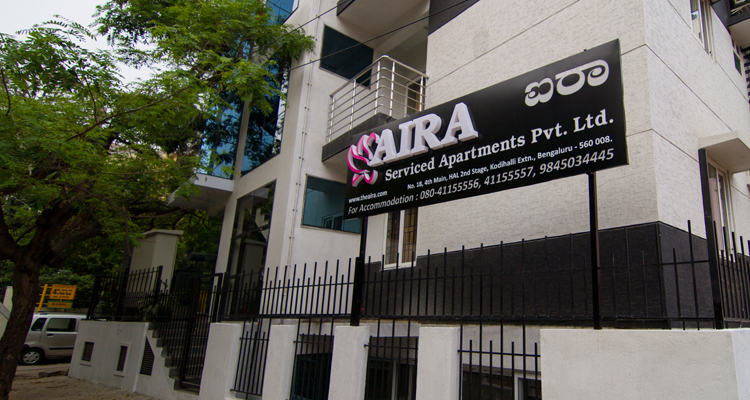 Large Photograph of AIRA SERVICED APARTMENTS BANGALORE located in Bangalore
